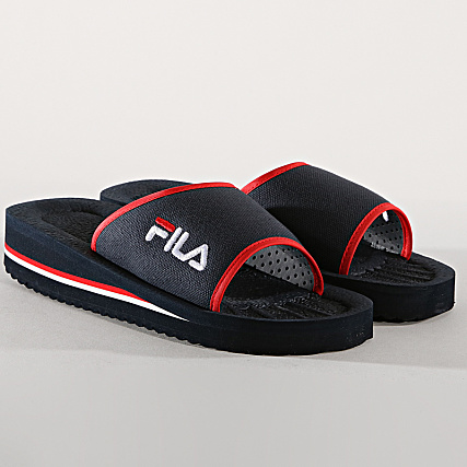 Sandale Fila Tomaia Slipper 42 Bleu