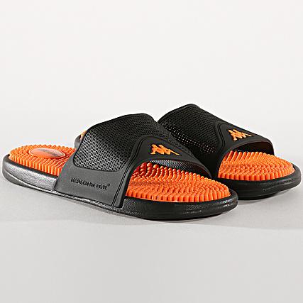 Endrix Orange Claquettes Kappa 303r520 Noir WE29IDH