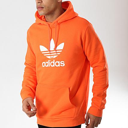 adidas Sweat Capuche Trefoil DZ4573 Orange