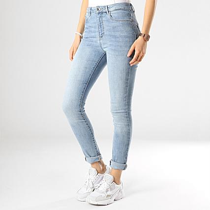 0804cf8cfb Vero Moda - Jean Taille Haute Skinny Femme Sophia Bleu Wash -  LaBoutiqueOfficielle.com