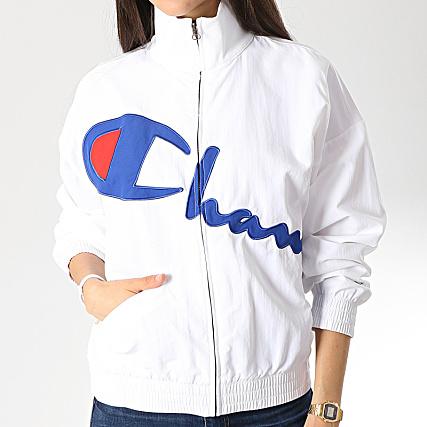 Champion Veste Zippée Femme 111659 Blanc