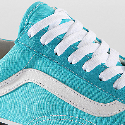 Vans Baskets Old Skool A38G10PS Scuba Blue True White