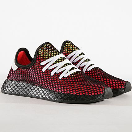 f3b77e2c0946c adidas - Baskets Deerupt Runner CM8448 Shock Red Real Lilac Core Black -  LaBoutiqueOfficielle.com