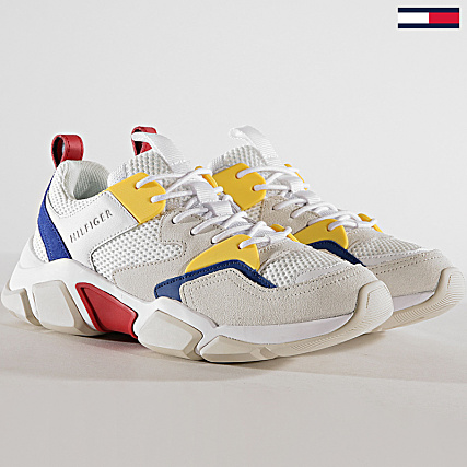 Tommy Hilfiger Jeans Baskets Chunky Material Mix Trainer