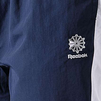 Reebok Pantalon Jogging A Bande Classic FI6473 Bleu Marine