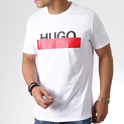 5ceee19964f HUGO by Hugo Boss - Tee Shirt Dolive193 50411135 Blanc ...