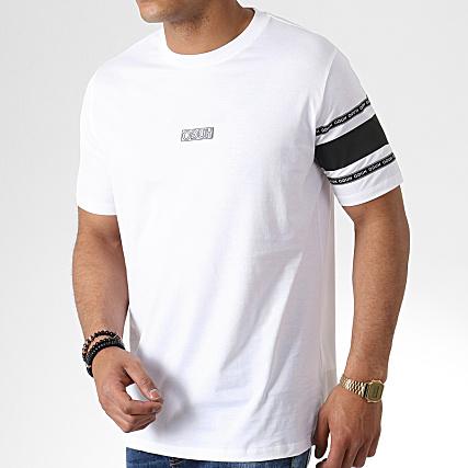 11bf84cdd HUGO by Hugo Boss - Tee Shirt Reverse Logo Durned-U6 50410898 Blanc -  LaBoutiqueOfficielle.com