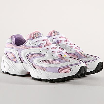 Baskets basses Buzzard Fila en rose pour femme | Galeries