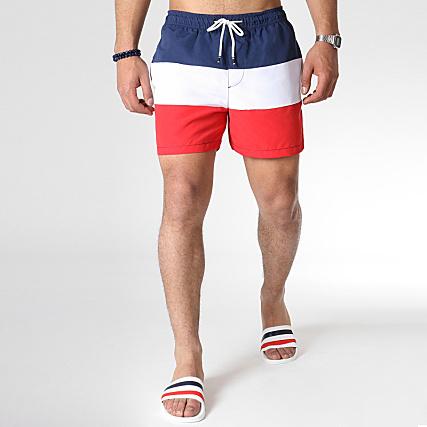 sale uk many fashionable exclusive range Jack And Jones - Short De Bain Tricolore Cali Bleu Marine ...