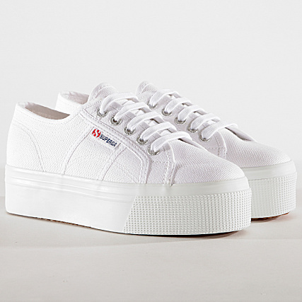 bb779595c0ad18 Superga - Baskets Femme Cotw 2790 Linea Up And Down White -  LaBoutiqueOfficielle.com
