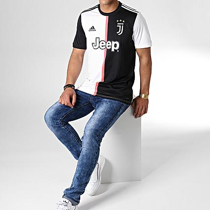 adidas Maillot De Football Juventus Home DW5455 Noir Blanc