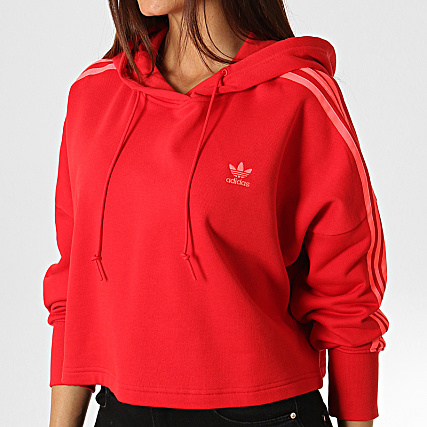 sweat rouge adidas 13 14 ans