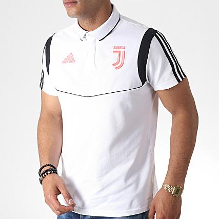 Bandes Blanc Manches Noir Juventus Dx9107 Polo Adidas A Courtes knX0ONPZ8w