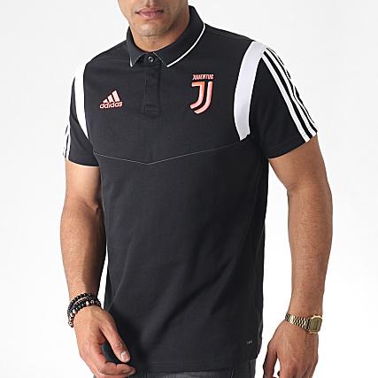 A Adidas Noir Bandes Dx9106 Juventus Manches Courtes Polo Blanc 8kXwOPN0Zn