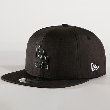 8802cbf9873a7 New Era - Casquette Snapback Ripstop 9Fifty Los Angeles Dodgers 11941639  Noir - LaBoutiqueOfficielle.com