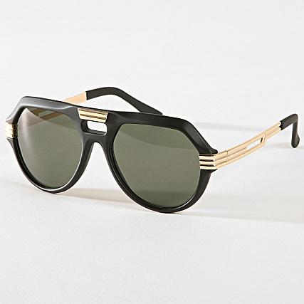 sélectionner pour authentique choisir l'original jolie et colorée Uniplay - Lunettes De Soleil 25660 Noir Doré ...
