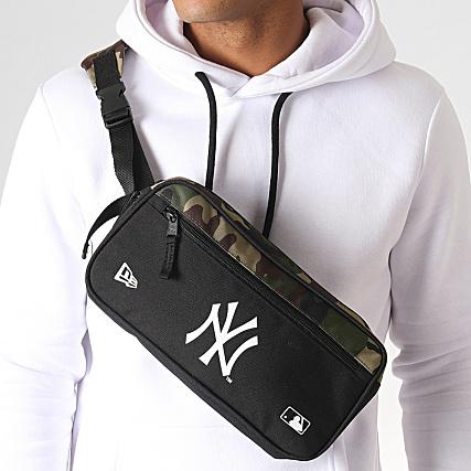 New Era Sac Banane New York Yankees Camouflage Vert Kaki