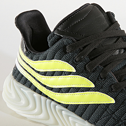 adidas Baskets Sobakov EE5625 Carbon Solar Yellow Blue