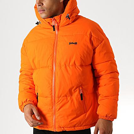 Doudoune Alaska Schott Nyc Schott Orange 2I9WEDH