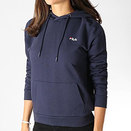 pull fila bleu marine femme