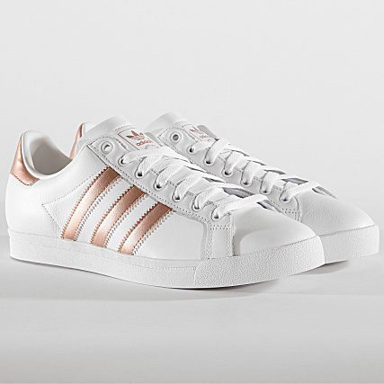 delicate colors buying new run shoes adidas - Baskets Femme Coast Star EE6201 Footwear White ...