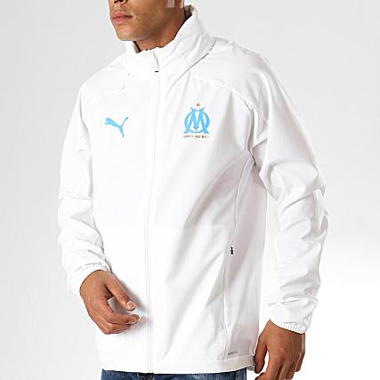 Veste à capuche OM Rain Blanc