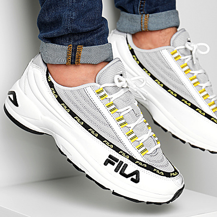 Fila Baskets DSTR97 1010570 01Z White Gray Violet