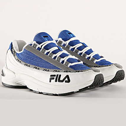 Fila Baskets DSTR97 1010570 02B White Electric Blue