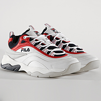 150 Fila Cb 1010723 Red Ray White Baskets Low Navy I29YbeHWED