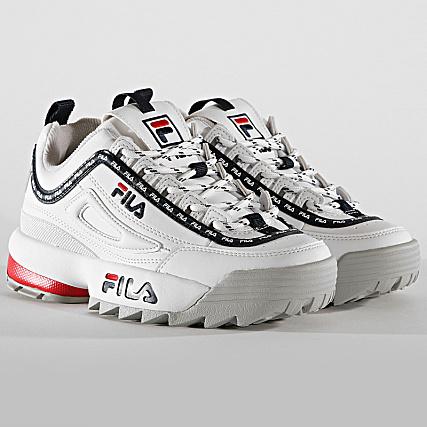 Fila Baskets Femme Disruptor Logo Low 1010748 1FG White