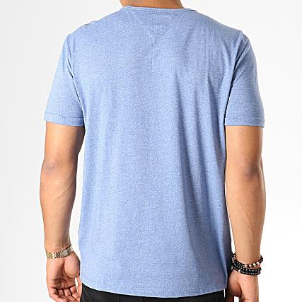 Tommy Hilfiger Jeans Tee Shirt Moderne Jaspe 4559 Bleu