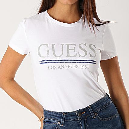 T shirt W94I20 J1300 Guess, Womens Short sleeve t shirts