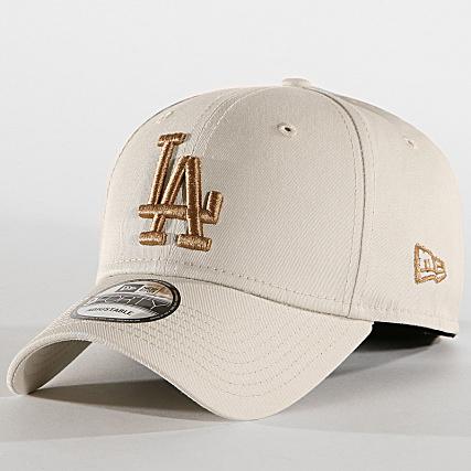 63d6e5cbd452b New Era - Casquette 9Forty League Essential 12040437 Los Angeles Dodgers  Ecru - LaBoutiqueOfficielle.com