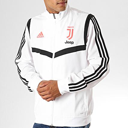adidas Veste Zippée A Bandes Juventus Presentation DX9114