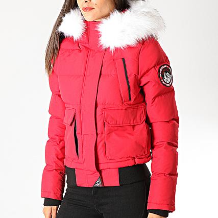 meilleur service 0f5a2 04088 Superdry - Doudoune Fourrure Femme Everest Ella W5000018A ...