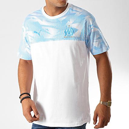 Blanc 755848 Om Casuals Tee Bleu Puma Shirt Clair uOPZkiXT