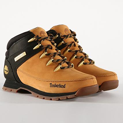 Mid Sprint Boots Nubuck Black Euro Timberland Hiker Wheat A1nhj eDH2W9YIE