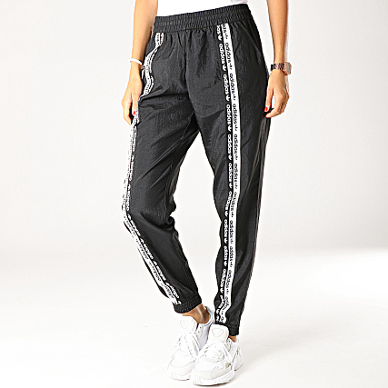 adidas Pantalon Jogging Femme ED7415 Noir Blanc