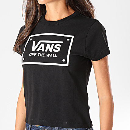 tee shirt noir femme vans