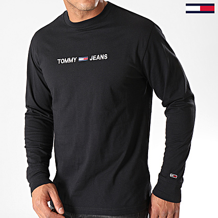 T shirt logo à manches longues | ROUGE | Tommy Hilfiger