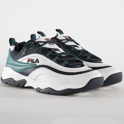 Fila Baskets Ray CB Low 1010723 91C White Shady Glade Fila
