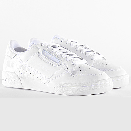 adidas Baskets Femme Continental 80 EH2621 Footwear White