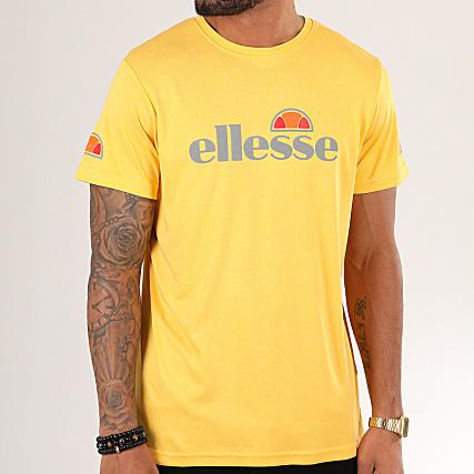 Ellesse T shirt de sport à empiècement camouflage