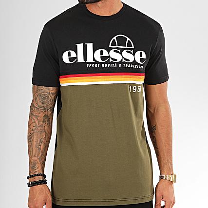 Ellesse Tee Shirt 1031N Camouflage Vert Kaki