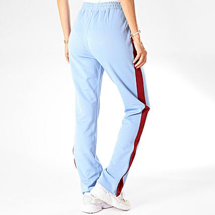 Fila Pantalon Jogging Femme A Bandes Nery 687093 Bleu