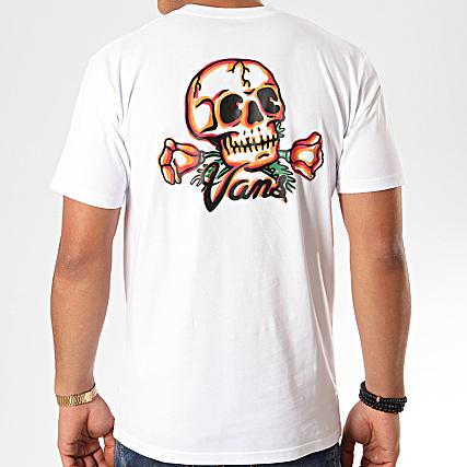 t-shirt vans squelette