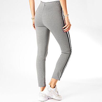 Tiffosi Legging Femme A Bandes Clearly 2 Gris Chiné