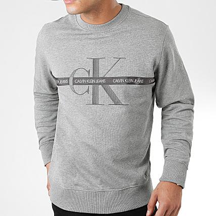 Calvin Klein Sweat Crewneck Taping Through Monogram CN