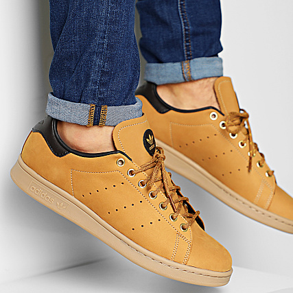 adidas Baskets Stan Smith EG3075 Mesa Nubuck Brown