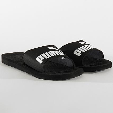 Puma Claquettes Purecat 360262 Black White